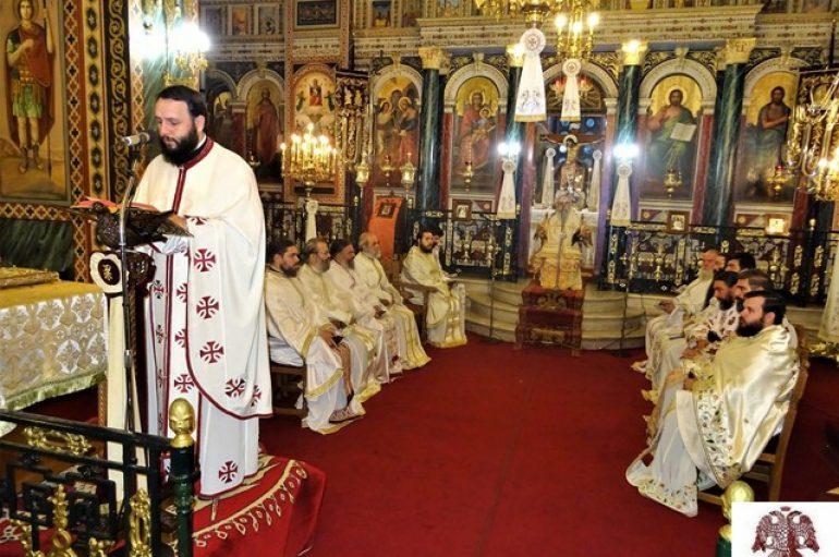 Η αρχαιοπρεπής Θεία Λειτουργία του Αγ. Ιακώβου στον Μητροπολιτικό Ναό Σπάρτης