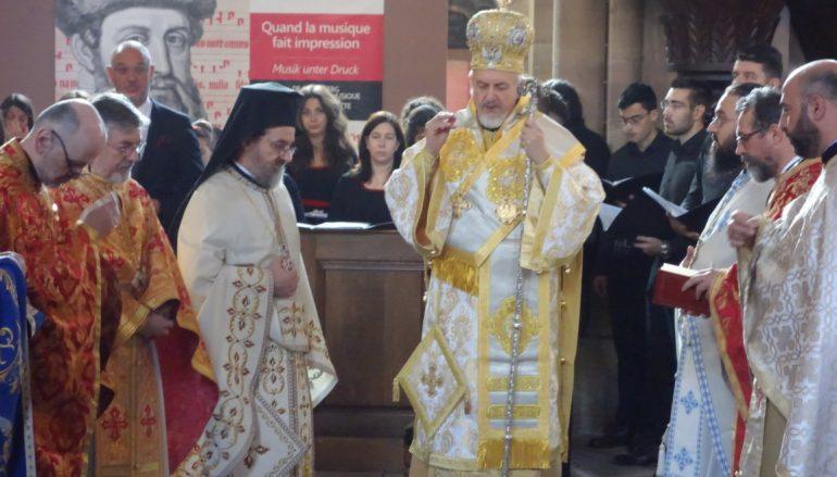 Αρχιερατική Θ. Λειτουργία στον Ι. Ναό Τριών Ιεραρχών Στρασβούργου (ΦΩΤΟ)