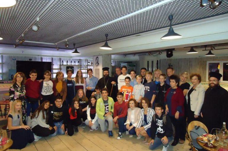 Συνάντηση Μητροπολίτη Μαρωνείας με μαθητές από το εξωτερικό (ΦΩΤΟ)