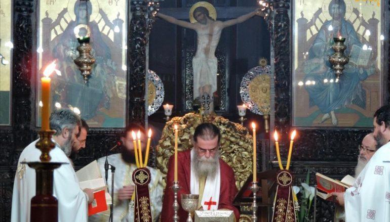 Θεία Λειτουργία Αγίου Ιακώβου του Αδελφοθέου στην Άρτα (ΦΩΤΟ)