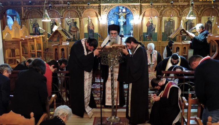 Ιερό Ευχέλαιο στον Ι. Ναό Αγίου Δημητρίου Πέτα (Κυράτσα) Άρτης (ΦΩΤΟ)