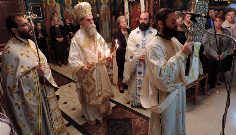 Με Αγρυπνία τιμήθηκε η Παναγία Γοργοϋπήκοος στην Άρτα (ΦΩΤΟ)