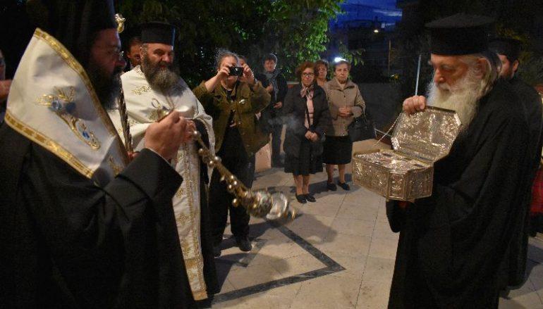 Λείψανο του Οσίου Λουκά του Ιατρού υποδέχθηκε η Κομοτηνή (ΦΩΤΟ)