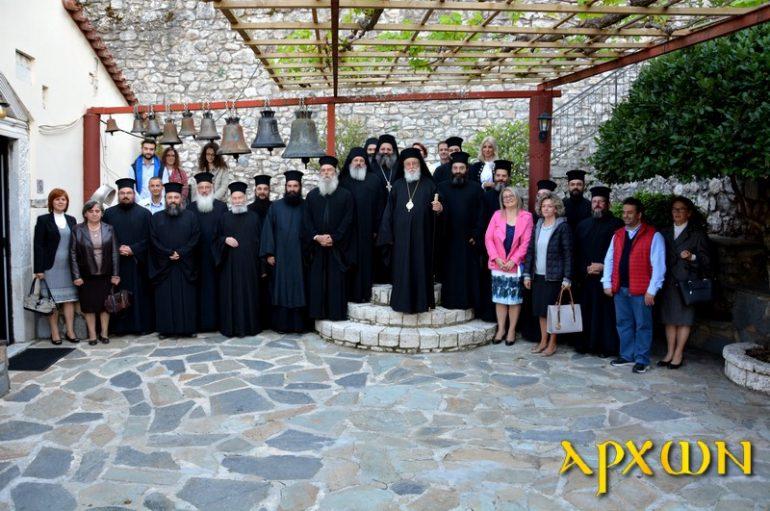 Σύναξη Κατηχητών στην Ιερά Μητρόπολη Μαντινείας (ΦΩΤΟ)