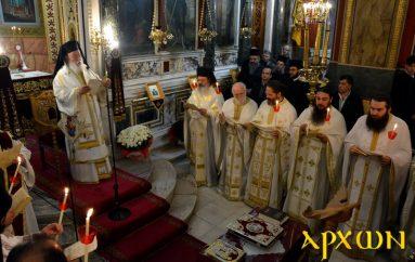 Η Θεία Λειτουργία του Αγίου Ιακώβου του Αδελφοθέου στην Τρίπολη (ΦΩΤΟ)
