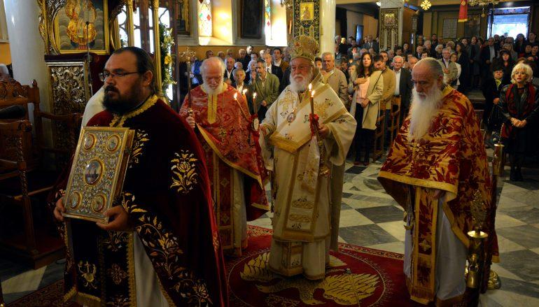 Η εορτή του Αγίου Δημητρίου στην Ι. Μητρόπολη Μαντινείας (ΦΩΤΟ)