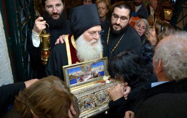 Αναχώρησε η Τιμία Ζώνη της Παναγίας από την Τρίπολη (ΦΩΤΟ)