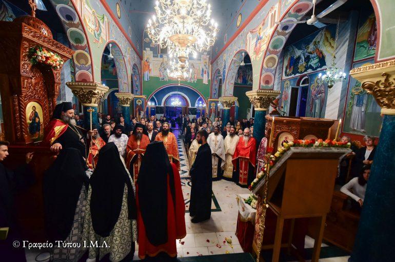 Εσπερινός Μεγάλης Εβδομάδας Αγίου Δημητρίου στην Ι. Μ. Λαγκαδά (ΦΩΤΟ)