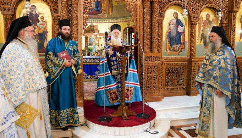Δοξολογία για τον εορτασμό του Μακεδονικού Αγώνα στην Βέροια (ΦΩΤΟ)