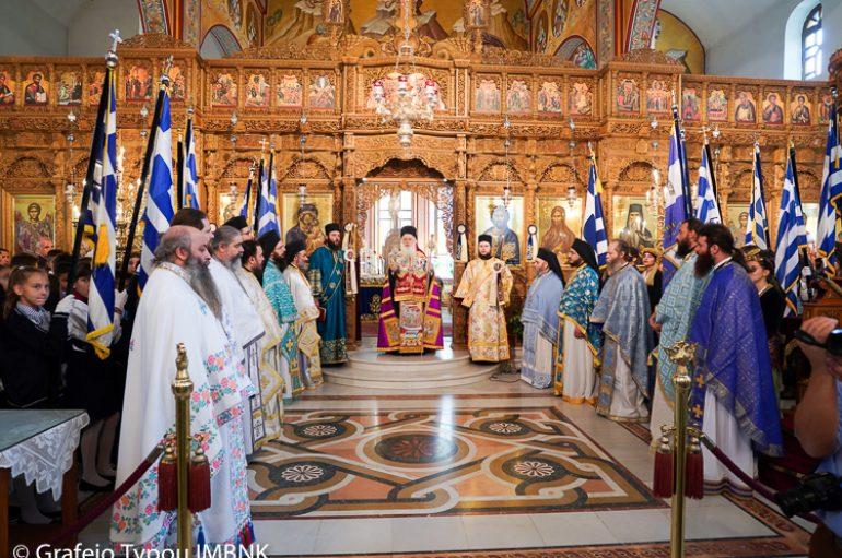 Δοξολογία για την 106η επέτειο της απελευθέρωσης της Νάουσας (ΦΩΤΟ)