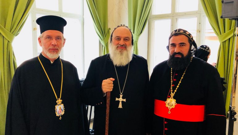 Ο Μητροπολίτης Σουηδίας συνάντησε τον Συροϊακωβίτη Πατριάρχη Αντιοχείας