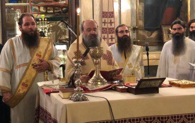 Ἡ Θεία Λειτουργία τοῦ Ἁγ. Ἰακώβου τοῦ Ἀδελφοθέου στην Πάτρα (ΦΩΤΟ)