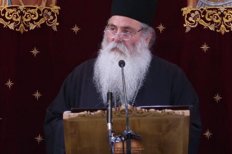 Ομιλία του Ηγουμένου της Ι. Μονής Ομπλού στον Ι. Ναό Αγ. Δημητρίου Μπραχαμίου