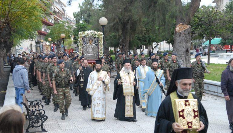 Η Χαλκίδα υποδέχθηκε Εικόνα της Παναγίας από την Σκόπελο (ΦΩΤΟ)
