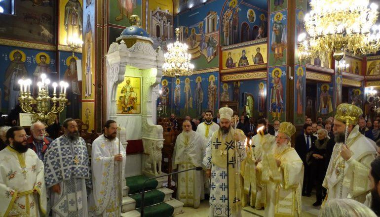 Τρισαρχιερατική Θεία Λειτουργία και Χειροτονία Διακόνου στη Νέα Ιωνία (ΦΩΤΟ)