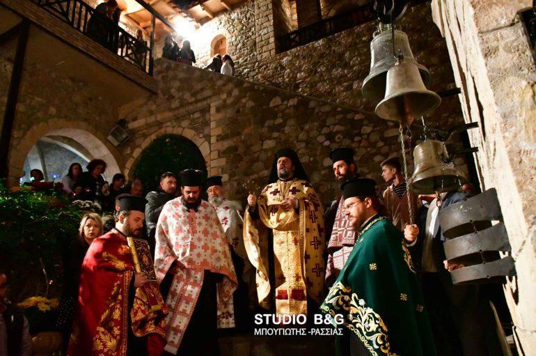 Πανηγυρικός Εσπερινός στην Ι. Μονή Αγίου Δημητρίου Καρακαλά (ΦΩΤΟ)