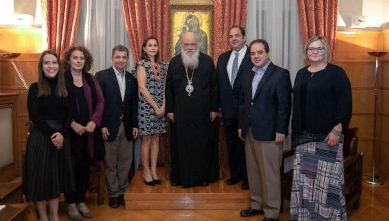 Ο Αρχιεπίσκοπος τίμησε τη μνήμη του ομογενή Ιωάννη Σαντίκου (ΦΩΤΟ)