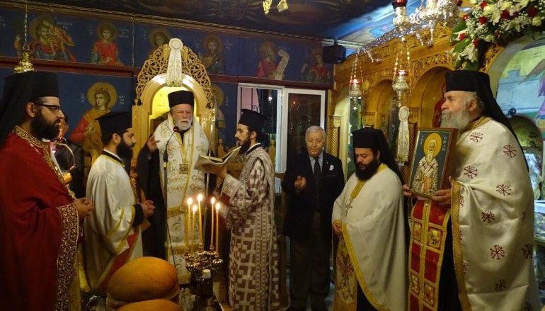 Αρχιερατικός Εσπερινός Αγίου Κυπριανού στο Ηράκλειο Αττικής (ΦΩΤΟ)