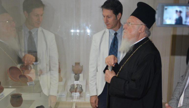 Ο Οικουμενικός Πατριάρχης στη Σινώπη του Πόντου (ΦΩΤΟ)
