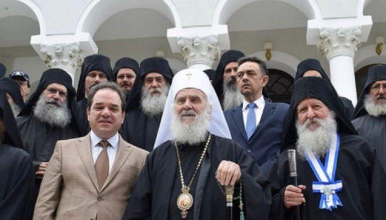 Επίσκεψη του Πατριάρχη Σερβίας στο Άγιον Όρος (ΦΩΤΟ)