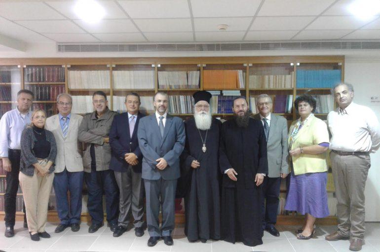 Μνημόνιο Συνεργασίας μεταξύ Εκκλησίας και Υπουργείου Παιδείας