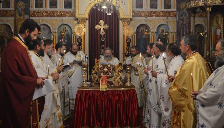 Η Θεία Λειτουργία του Αγίου Ιακώβου του Αδελφοθέου στον Κάμπο Αβίας (ΦΩΤΟ)
