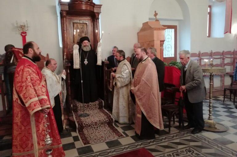 Αρχιερατικός Εσπερινός στον Ι. Ναό Αγίου Δημητρίου Γυθείου (ΦΩΤΟ)