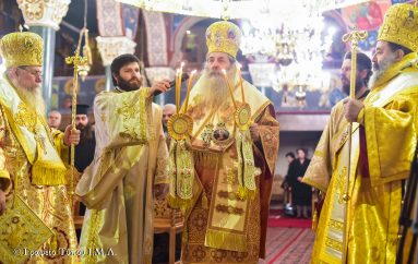 Η εορτή του Αγίου Δαμασκηνού του Στουδίτου στην Ι. Μ. Λαγκαδά (ΦΩΤΟ)