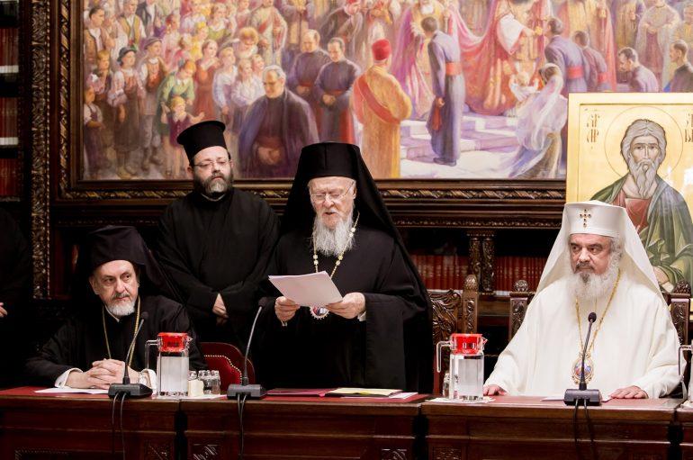 Οικ. Πατριάρχης: «Η Εκκλησία της Ρουμανίας θα συμβάλλει στην ενότητα»