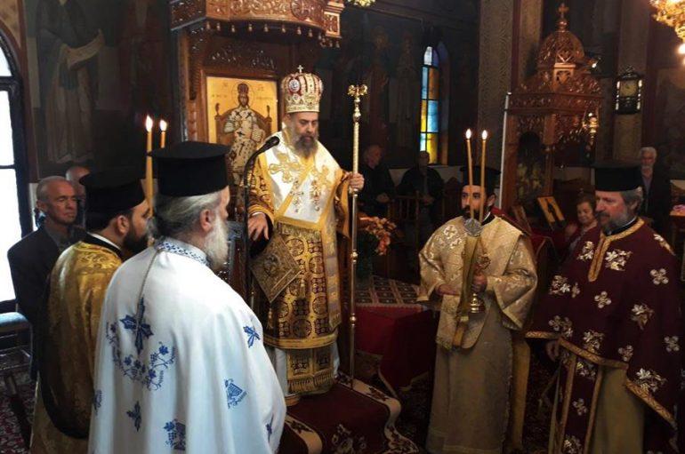 Η εορτή ανακομιδής των Λειψάνων του Αγίου Γεωργίου στην Ι. Μ. Θεσσαλιώτιδος