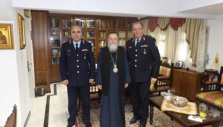 Στον Μητροπολίτη Κορίνθου ο νέος Αστυνομικός Δ/ντης Πελοποννήσου