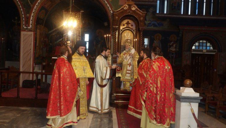 Ο εορτασμός των Εισοδίων της Θεοτόκου στην Ι. Μ. Κορίνθου (ΦΩΤΟ)
