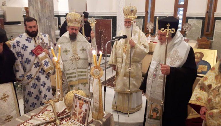 Τεσσαρακονθήμερο Μνημόσυνο του Επισκόπου Τανάγρας Πολυκάρπου (ΦΩΤΟ)