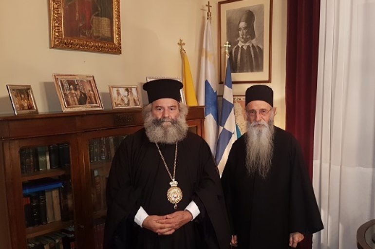 Ο Αρχιμ. Νικόδημος Γιαννακόπουλος στο Γύθειο (ΦΩΤΟ)