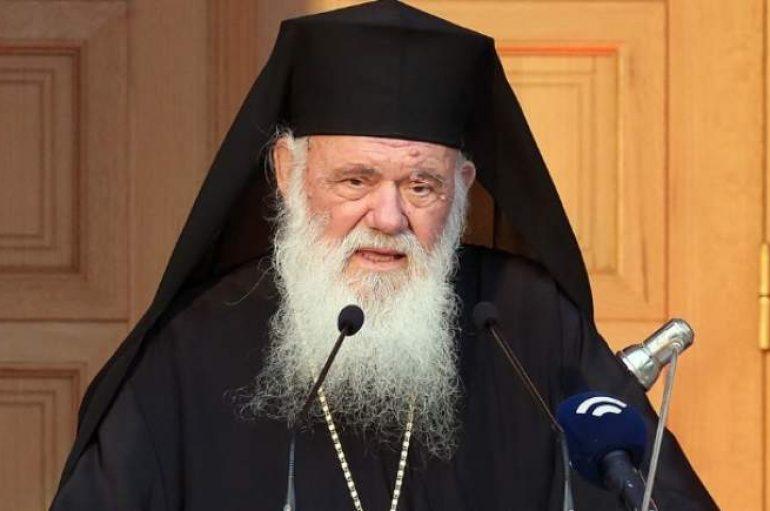 """Αρχιεπίσκοπος: """"Άλλο συμφωνία και άλλο πρόθεση να συμφωνήσουμε"""""""