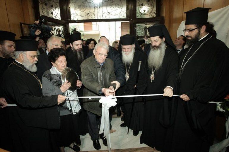 """Ο Αρχιεπίσκοπος στα εγκαίνια της """"Στέγης Κατακοίτων Γερόντων"""" (ΦΩΤΟ)"""