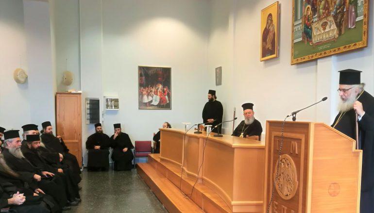 Ο Μητροπολίτης Χαλκίδος ομιλητής σε Ιερατική Σύναξη της Ι. Μ. Εδέσσης
