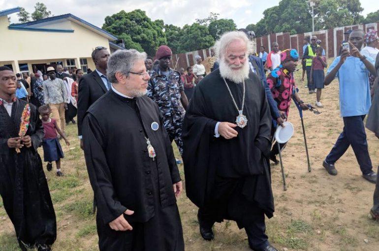 Ο Πατριάρχης Αλεξανδρείας στην χώρα των ματωμένων διαμαντιών (ΦΩΤΟ)