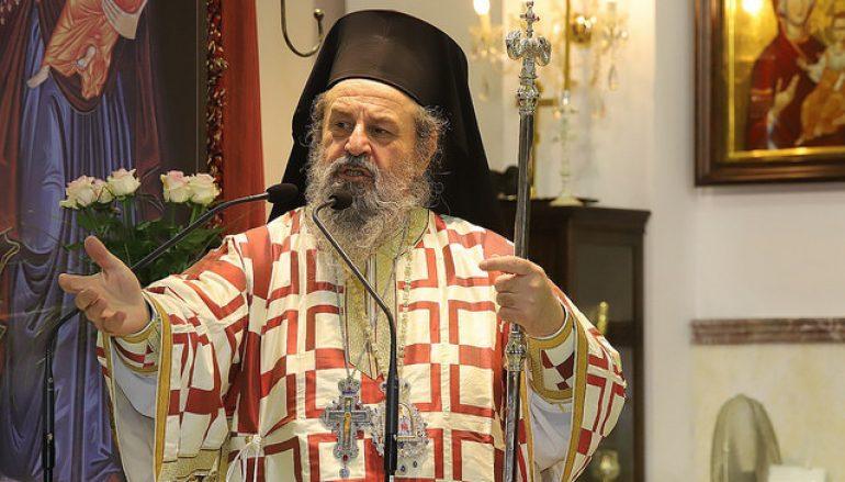 """Μητροπολίτης Δράμας: """"Αγωνιώ για τους κληρικούς μας"""""""