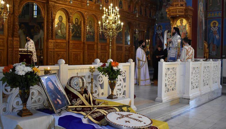 Εξαετές Μνημόσυνο του Μακαριστού Μητροπολίτη Μαρωνείας Δαμασκηνού