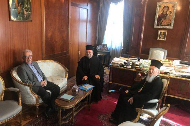 """Γαβρόγλου: """"Θα μεταφέρω τους προβληματισμούς του Οικουμενικού Πατριάρχη"""""""