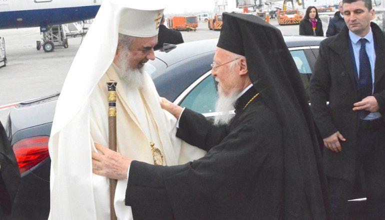 Έφτασε στο Βουκουρέστι ο Οικουμενικός Πατριάρχης (ΦΩΤΟ)