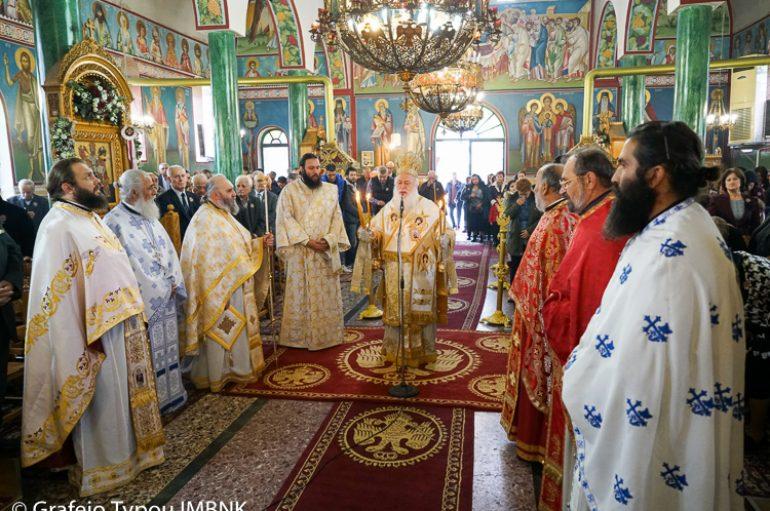 Η εορτή των Παμμεγίστων Ταξιαρχών στην Ι. Μητρόπολη Βεροίας (ΦΩΤΟ)