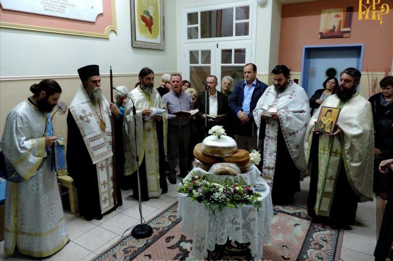 Πανηγύρισε το Παρεκκλήσιο του Αγίου Νεκταρίου στο Γηροκομείο Άρτης (ΦΩΤΟ)