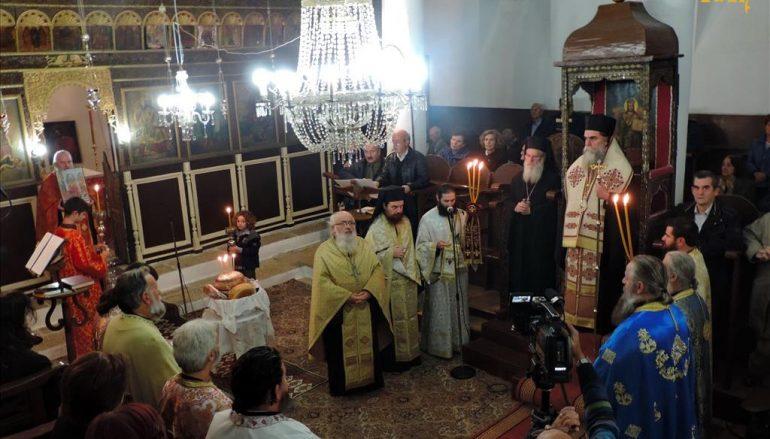 Δισαρχιερατικός Εσπερινός Εισοδίων της Θεοτόκου στο Επισκοπείο Άρτης (ΦΩΤΟ)