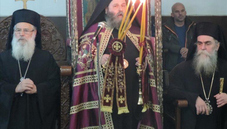 Πολυαρχιερατικός Εσπερινός Αγίου Δαμασκηνού του Στουδίτου στην Άρτα (ΦΩΤΟ)