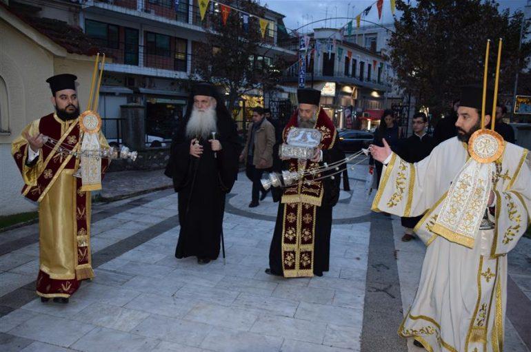 Η Καρδίτσα υποδέχθηκε Λείψανα του Αγίου Λουκά του Ιατρού (ΦΩΤΟ)