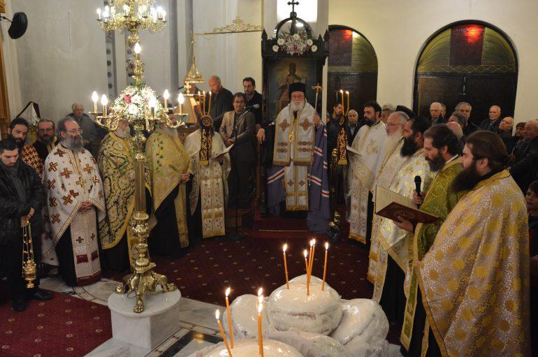 Αρχιερατικός Εσπερινός της Αγίας Αικατερίνης στην Τρίπολη (ΦΩΤΟ)