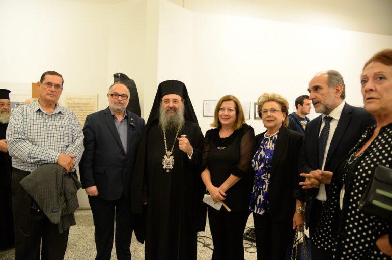 Εγκαίνια Έκθεσης «Ηλίας Μπογδανόπουλος» από τον Μητροπολίτη Πατρών