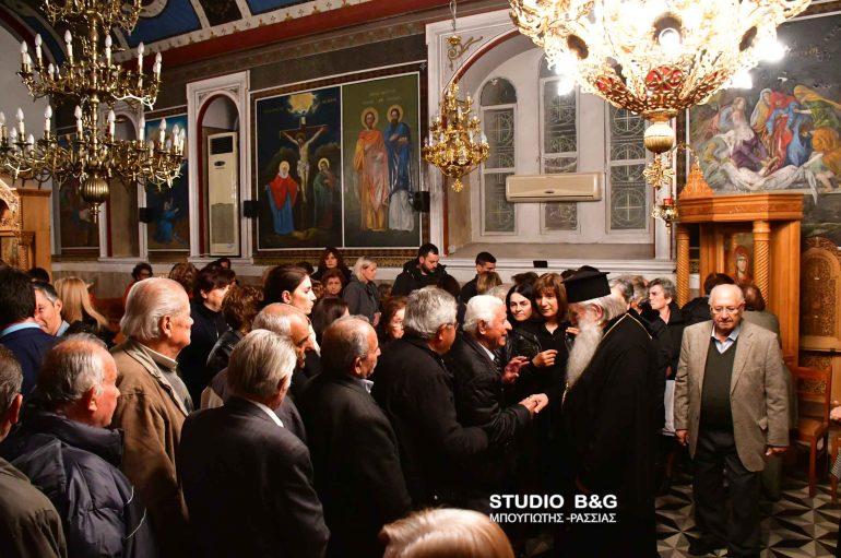 Τα Ιερά Λείψανα του Αγίου Λουκά του Ιατρού στο ορεινό Μαλαντρένι Αργολίδος